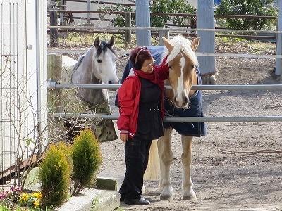 馬と愛し合う