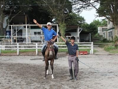 乗馬の楽しい雰囲気