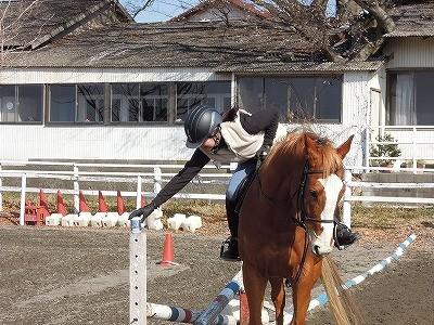 乗馬でゲームやりましょう!