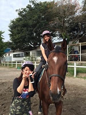 楽しい体験乗馬!