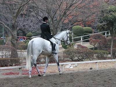 冬至の乗馬と表彰式