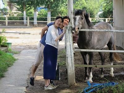 馬とハッピー!