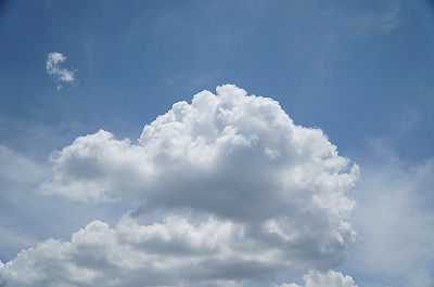 アップヒルのときいつもこの雲を思い浮かべるように