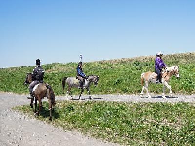 馬と外乗へレッツゴー