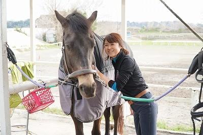 馬と信頼関係を作る