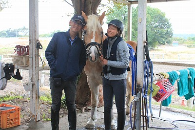馬を愛する仲間