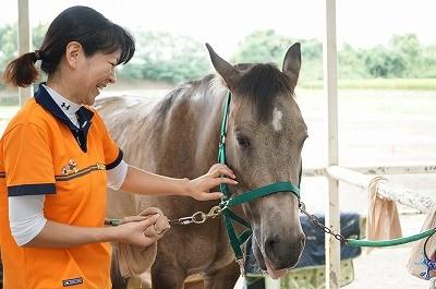 乗馬はニコニコ笑顔で乗ろう!