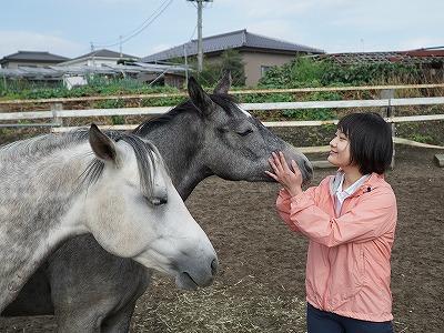 信頼関係を大切にする乗馬