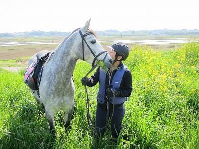 馬と想いを寄せて