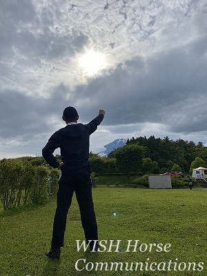 富士山に決意