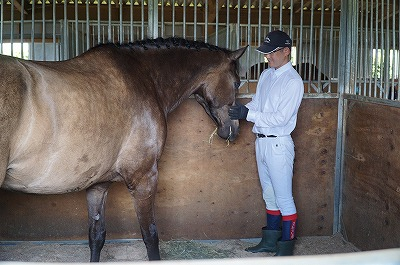 馬を大切にする乗馬クラブ