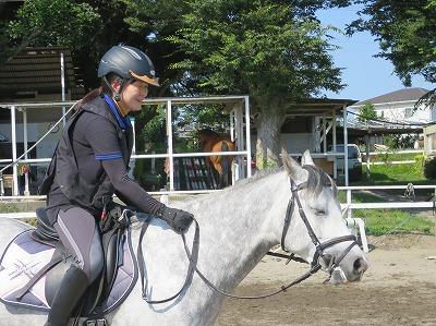 優しい馬、優しい人