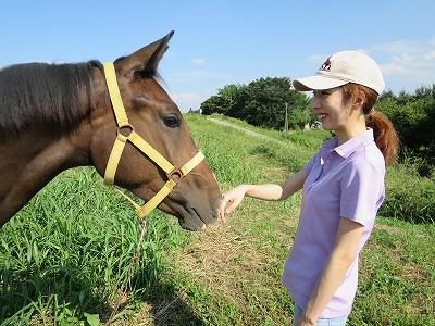 馬とお散歩
