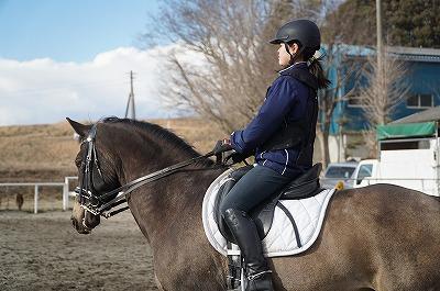 乗馬は愛情深い人が勝つ