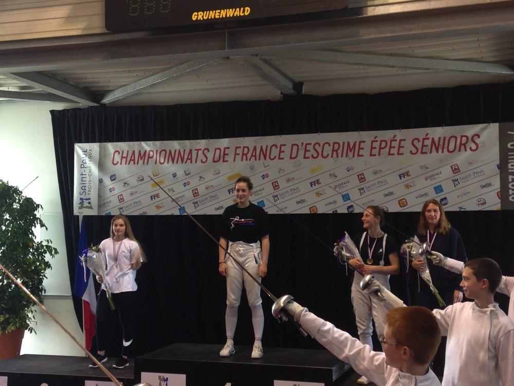 Camille HERMAY, championne de France en N3
