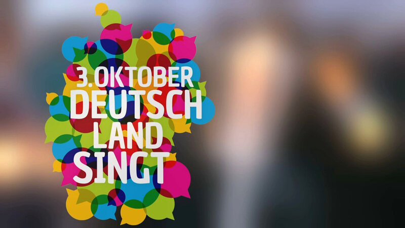 3. Oktober Deutschland singt