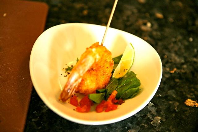 Shrimp Pinxo
