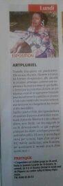 Article sur l'Exposition ART PLURIEL