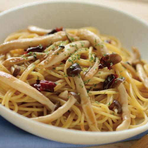博多野菜だれ,料理使用例,パスタ,博多水炊きさもんじ