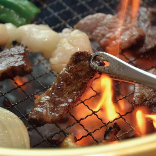 博多よかぽん,料理使用例,焼肉,博多水炊きさもんじ