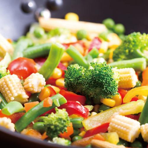 博多よかぽん,料理使用例,野菜炒め,博多水炊きさもんじ