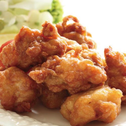 博多野菜だれ,料理使用例,唐揚げ博多水炊きさもんじ