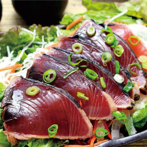 博多よかぽん,料理使用例,鰹のたたき,博多水炊きさもんじ