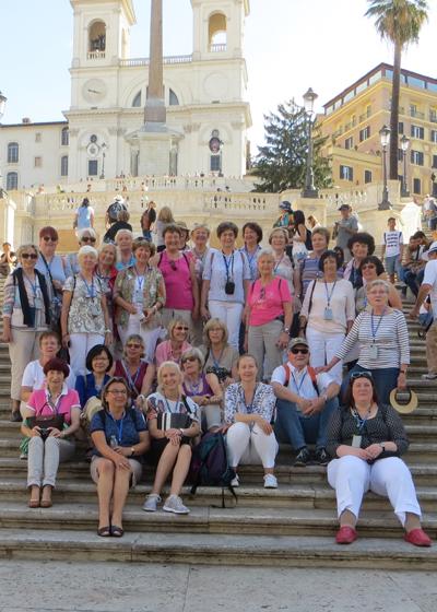 Bild: Frauenchor Erkrath in Rom