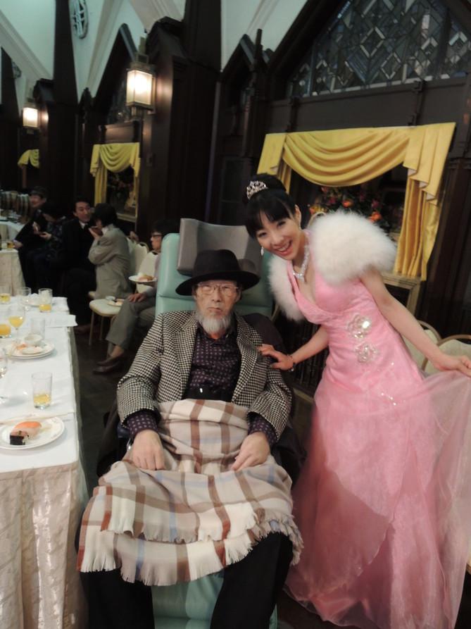 今井重幸先生と 2013/12/24 銀座クラシックホール