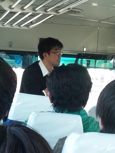 安平町についての説明がすごかった!安平町役場 畑田さん。
