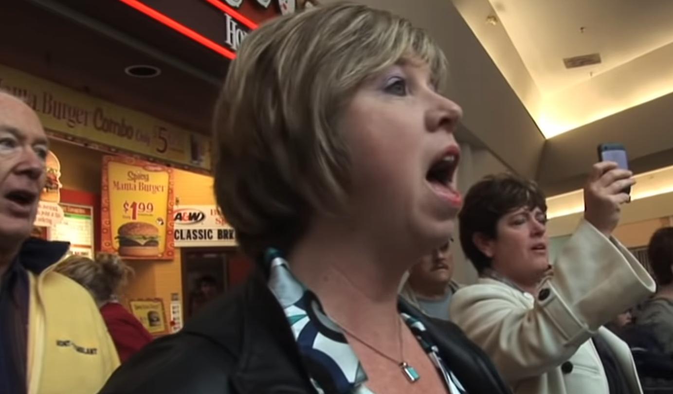 Flashmob - Hallelujah