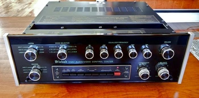 McIntosh Audio/Video Control Center C34V