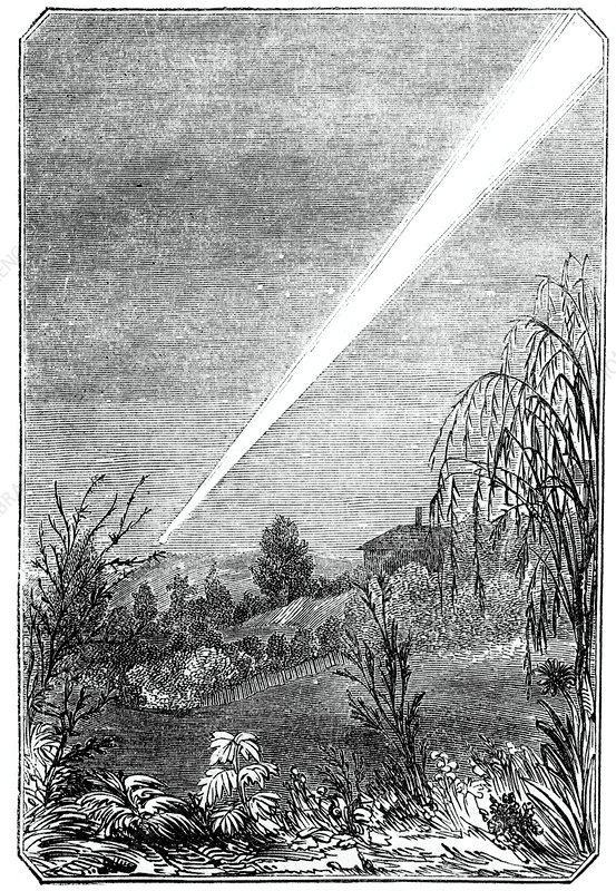 Great Comet of 1844, Tasmania