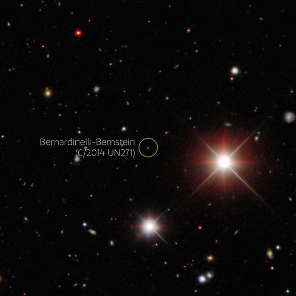Credit: Dark Energy Survey/DOE/FNAL/DECam/CTIO/NOIRLab/NSF/AURA/P. Bernardinelli & G. Bernstein (UPenn)/DESI Legacy Imaging Surveys