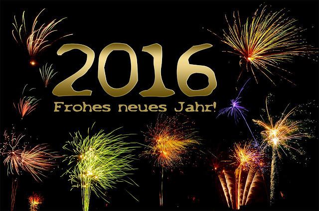 Glückwünsche zum Neuen Jahr