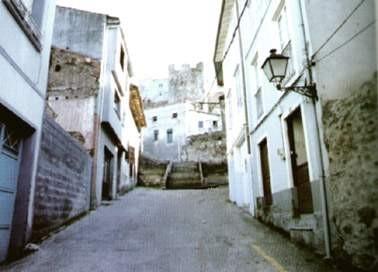 Rúa Falangueira de Monforte de Lemos