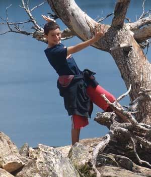 ITAI   ITZJAKI (13 años y medio, Moshav Nir Israel )