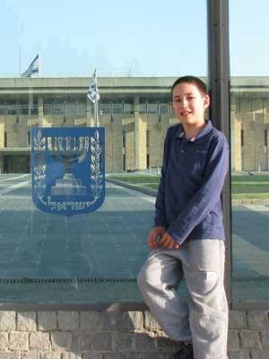 ORI COHEN (12 años, Kibutz Ein Hashlosha)