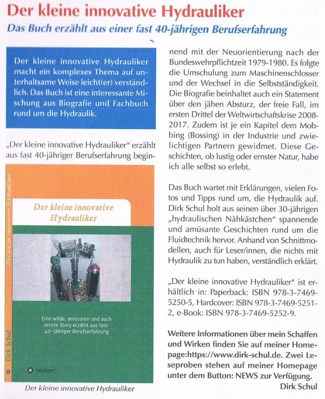 """Buchvorstellung im Stadtmagazin """"Es Heftche"""""""