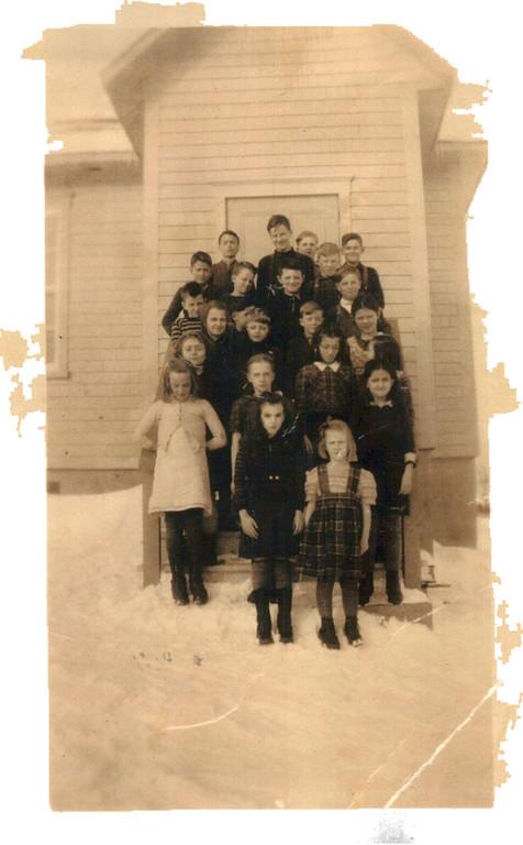 Ecole du rang St-François 1946-47