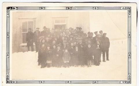 Mission à l'école du rang 7 entre 1940 et 1950