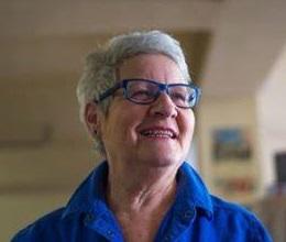 Françoise Bourgeault, co-présidente de la société du patrimoine St-Léon-de-Standon Crédit photo: Steeve Lapointe Artson