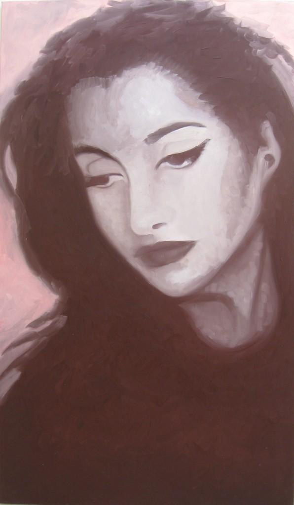 """""""Archangel #01"""" (80x136)cm, Huile sur lin"""