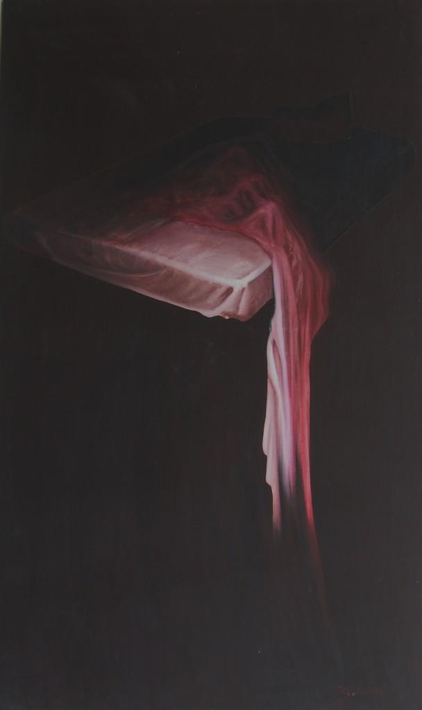 """Nightmare"" (84x139)cm, Huile sur lin"