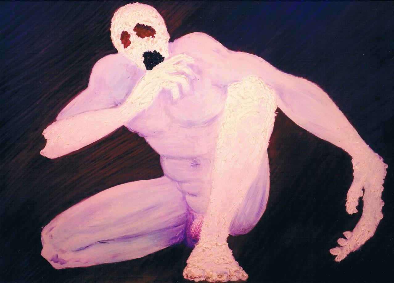 """""""Oedipus Rex"""" (100x70)cm, Huile sur lin - Collection privée"""