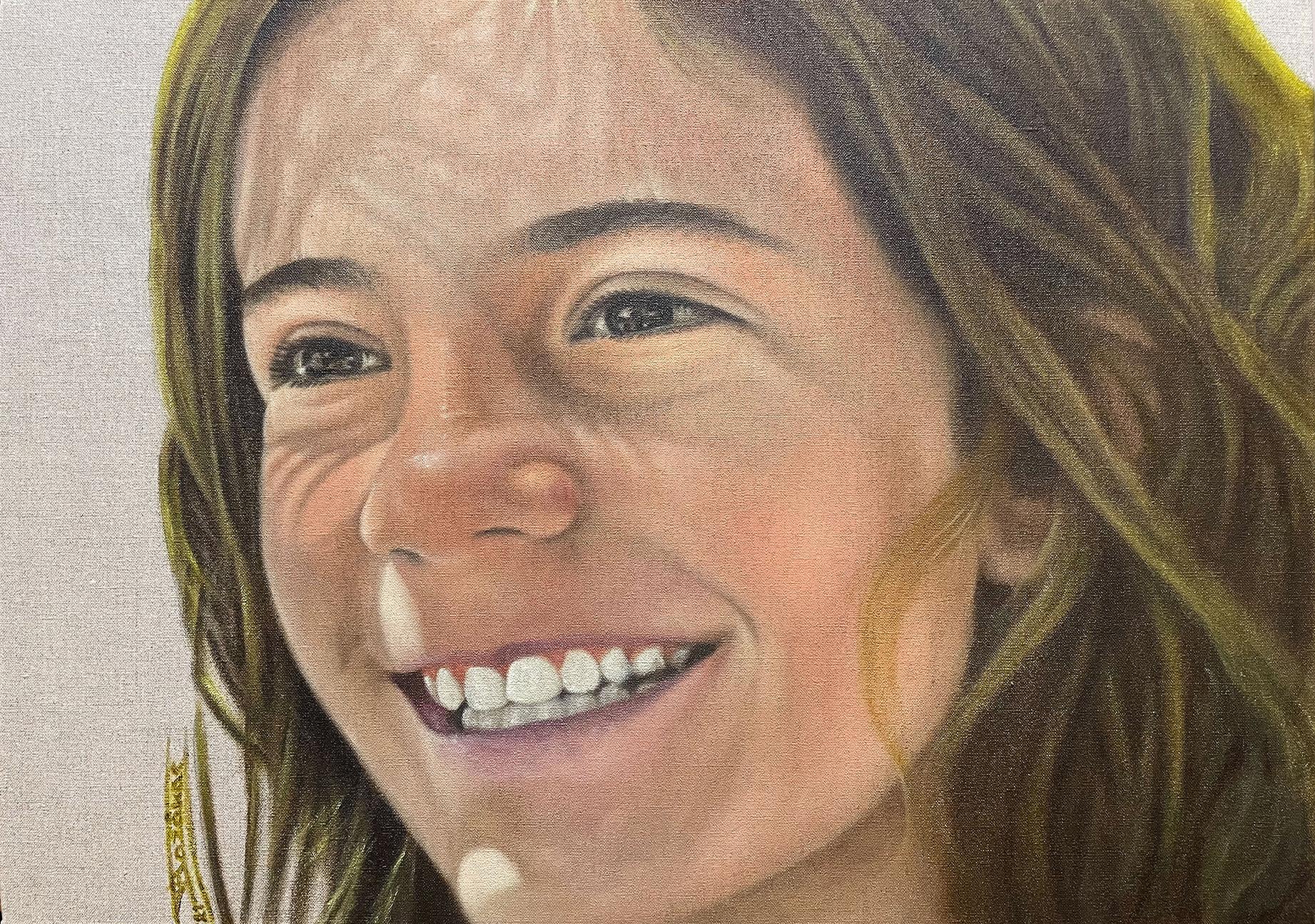 """Elli"" (65x46)cm, Oil on linen canvas, 2021 - Private collection"