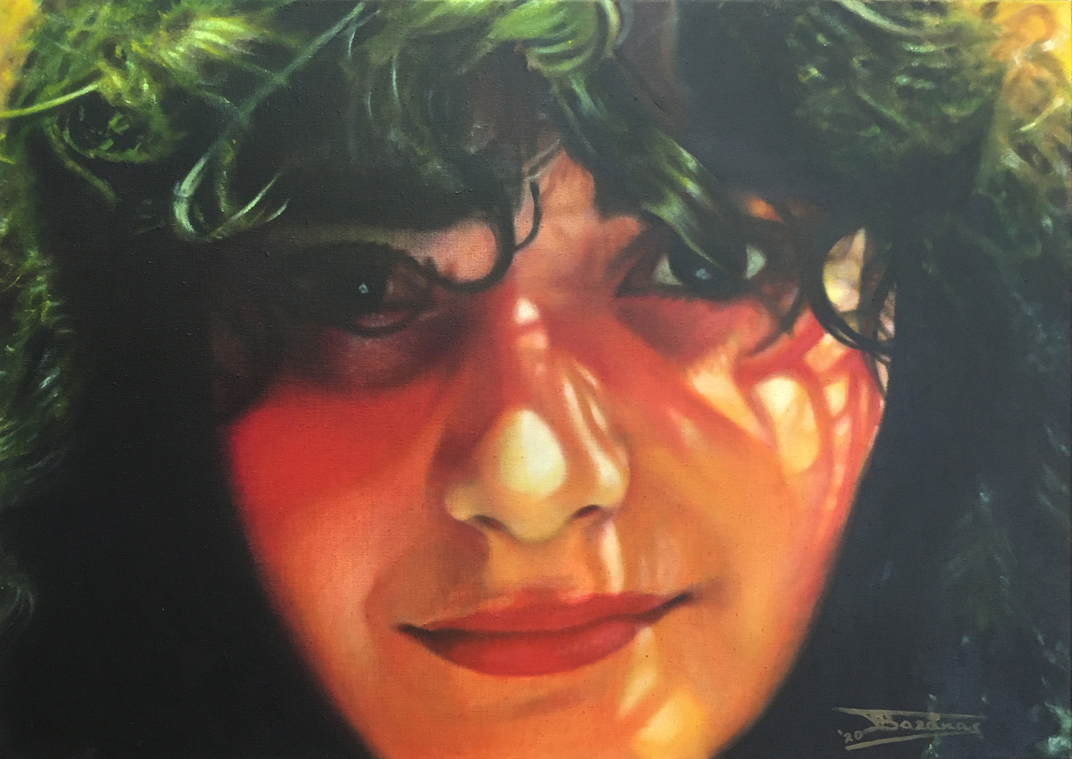 """Irini"" (65x460cm, Oil on linen canvas, 2020 - Private collection"