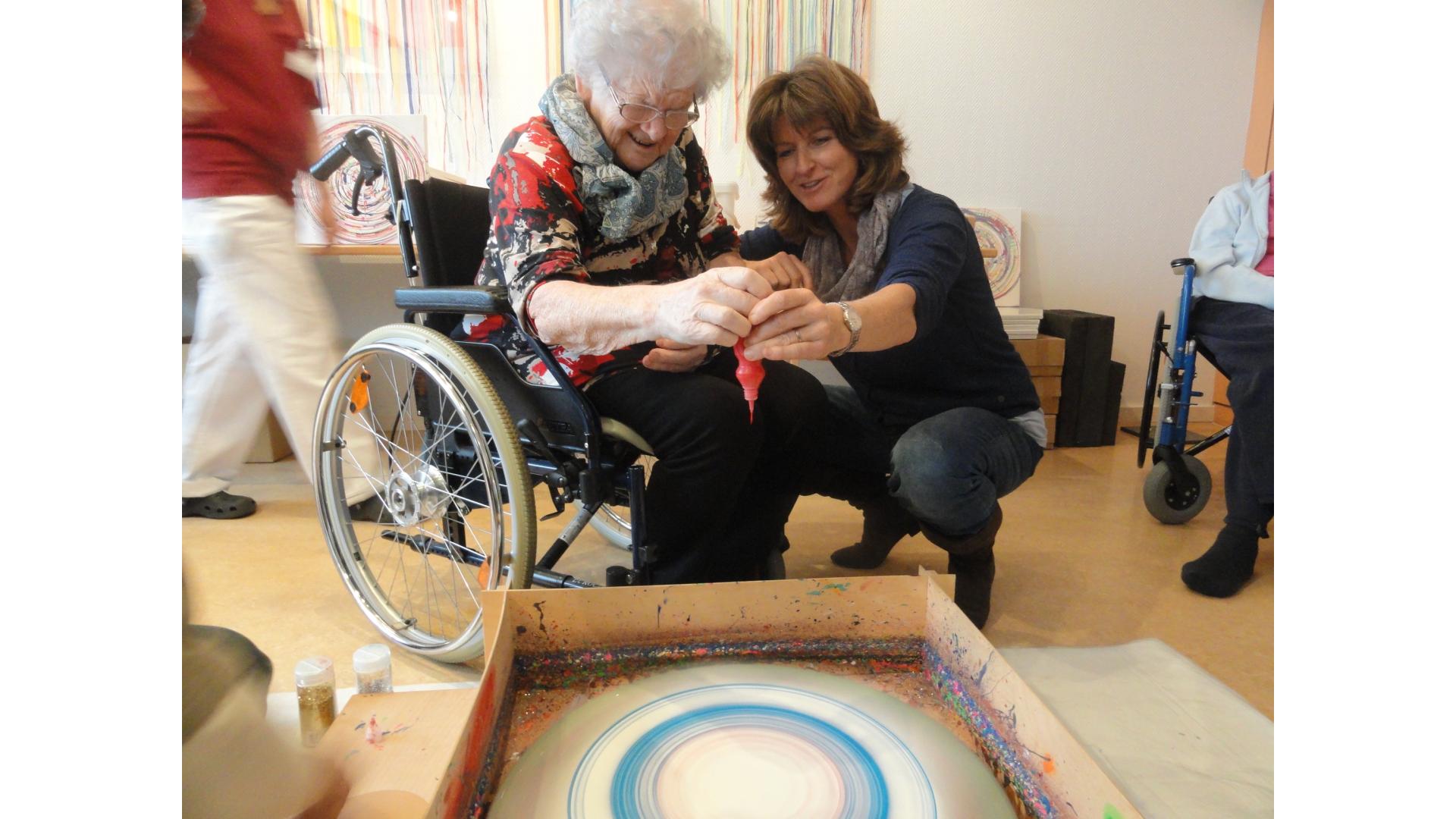 im Alters- und Pflegeheim