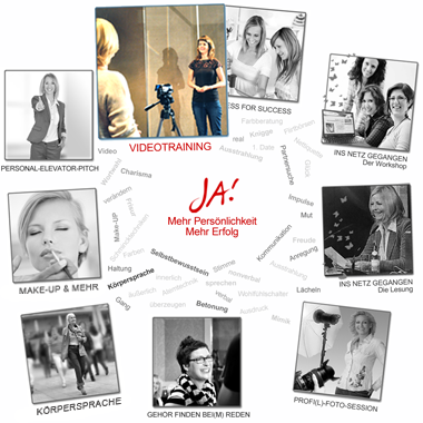 Übersicht der Workshop- und Coaching-Angebote von JA!-PERSONALITY.