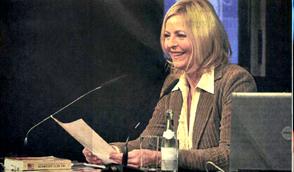 Judith Alwin liest aus ihrem Bestseller